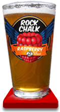Rock Chalk Raspberry Beer